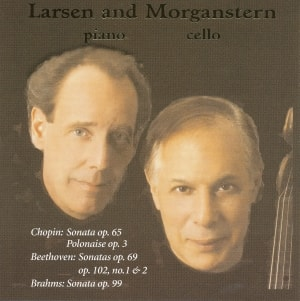Eric Larsen, piano; Daniel Morganstern, cello