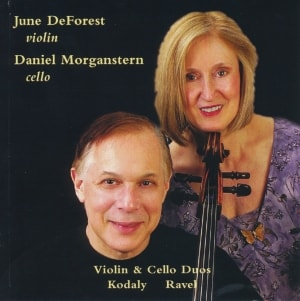 Daniel Morganstern, cello; June DeForest, violin