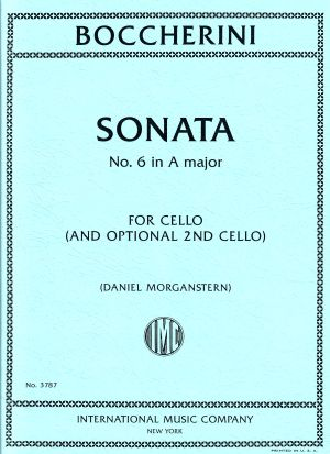 Boccherini Sonata No. 6 in A Major