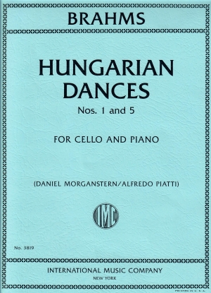Brahms Hungarian Dances Nos. 1 and 5