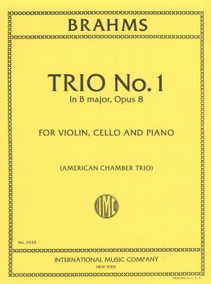 Brahms Trio No. 1 in B Major, Opus 8