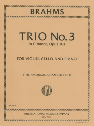 Brahms Trio No. 3 in C minor, Opus 101