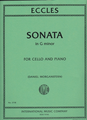 Eccles Sonata in G minor