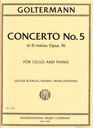 Goltermann Concerto No. 5 in d minor, Op. 76