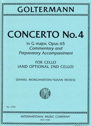 Goltermann Concerto No. 4 in G Major, Op. 65