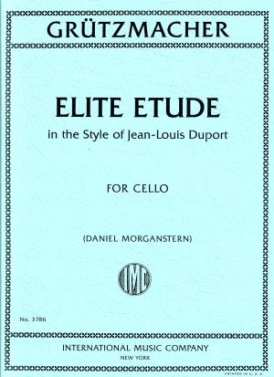 Grützmacher Elite Etude in the Style of Jean-Louis Duport