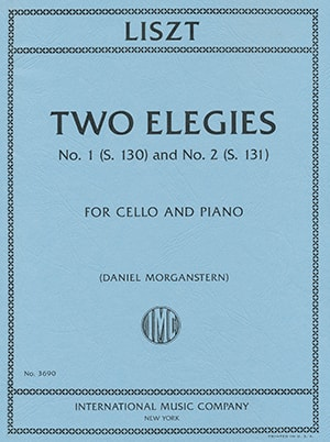 Liszt Two Elegies No. 1 (S. 130) and No. 2 (S. 131)