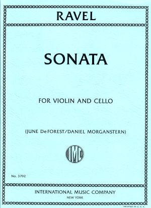 Ravel Sonata for Violin and Cello