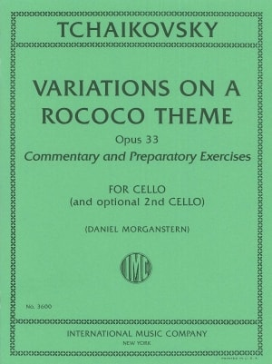 Tchaikovsky Variations on a Rococo Theme, Opus 33